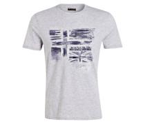 T-Shirt SANCY - hellgrau meliert