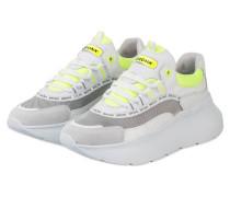 Plateau-Sneaker GRAYSON - WEISS/ NEON GELB