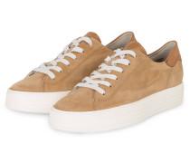 Plateau-Sneaker - CAMEL