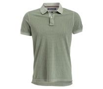 Piqué-Poloshirt Slim-Fit - oliv