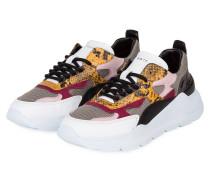Sneaker FUGA PYTHON - WEISS/ GRAU/ GELB