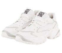 Plateau-Sneaker EXTREME - WEISS