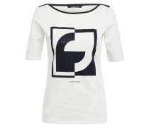 T-Shirt mit Schmucksteinbesatz