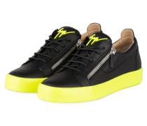 Sneaker FRANKIE FLUO - SCHWARZ/ NEONGRÜN