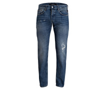 Destroyed-Jeans GROVER Tapered Fit
