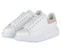 Plateau-Sneaker - WEISS/ ROSA