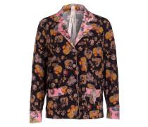 Bluse im Pyjama-Stil