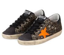 Sneaker SUPERSTAR - SCHWARZ/ GOLD/ ORANGE