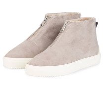 Hightop-Sneaker - TAUPE