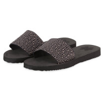 Sandalen POOL SLIM PEARLS - SCHWARZ