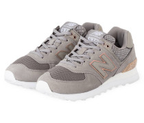 Sneaker WL574 - GRAU/ BRONZE