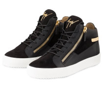 Hightop-Sneaker KRISS - SCHWARZ/ WEISS