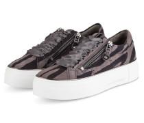Plateau-Sneaker BIG - DUNKELGRAU/ SCHWARZ