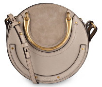 Schultertasche SMALL PIXIE - pastell grey