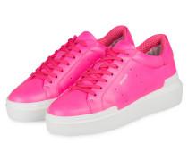 Plateau-Sneaker HOLLYWOOD - NEONPINK