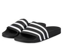 Sandalen ADILETTE - schwarz/ weiss