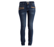 Jeans - dark blue denim