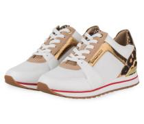 Sneaker BILLIE TRAINER - WEISS/ BEIGE