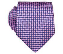 Krawatte - pink/ navy