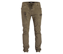 Cuffed-Hose Slim-Fit