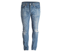 Destroyed-Jeans 501 Skinny-Fit