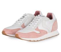 Sneaker JULIA - WEISS/ ROSE