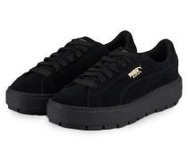 Plateau-Sneaker PLATFORM TRACE - schwarz