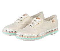 Sneaker TRIPLE HULA FOXING - SAND METALLIC