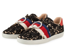 Slip-on-Sneaker ACCE - SCHWARZ/ ROT/ NAVY