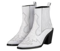Cowboy Boots - WEISS