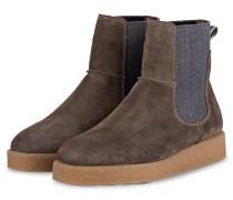 Chelsea-Boots - TAUPE/ BLAUGRAU