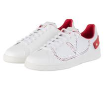Sneaker - WEISS/ ROT
