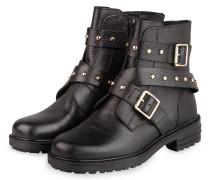 Biker-Boots - SCHWARZ