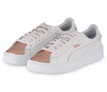 Sneaker BASKET PLATFORM METALLIC