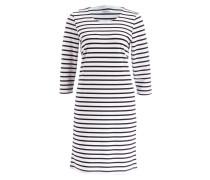 Kleid DENA - marine/ offwhite gestreift