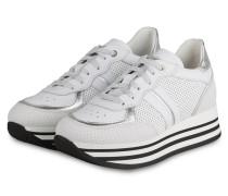 Plateau-Sneaker NOEMI 6 - WEISS