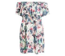 Off-Shoulder-Kleid FLORAL CAMO