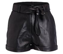 Leder-Shorts AMILA
