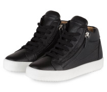 Hightop-Sneaker JUSTY - SCHWARZ