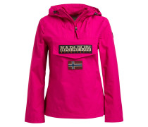 Schlupfjacke RAINFOREST - fuchsia