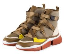Sneaker SONNIE HIGH - KHAKI