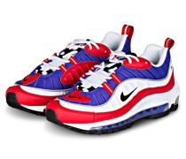 Sneaker AIR MAX 98 - WEISS/ LILA/ ROT