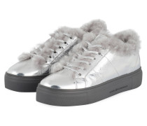 Plateau-Sneaker BIG - SILBER/ GRAU