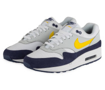 Sneaker AIR MAX 1 - BLAU/ WEISS/ HELLGRAU