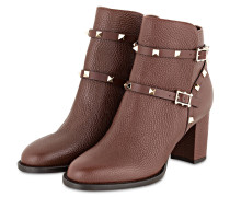 Stiefeletten ROCKSTUD - LIGHT BROWN