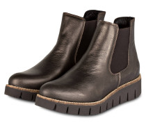Chelsea-Boots NANDA - BRONZE/ METALLIC