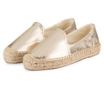 Espadrilles SMOKING - GOLD