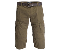Cargo-Bermudas FILE Loose-Fit - oliv