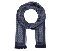 Schal - dunkelblau/ grau