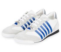 Sneaker NEW RUNNER - WEISS/ HELLGRAU/ BLAU